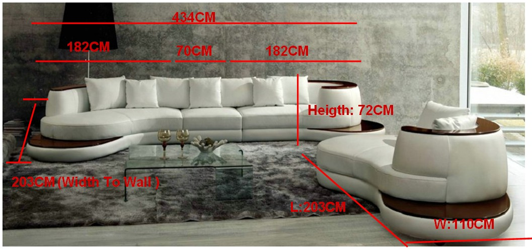 Free Shipping Luxury Villa Sofa Set, Sofa And Longue Furniture Set, Luxury  Model Furniture S8622 In Living Room Sofas From Furniture On Aliexpress.com  ...