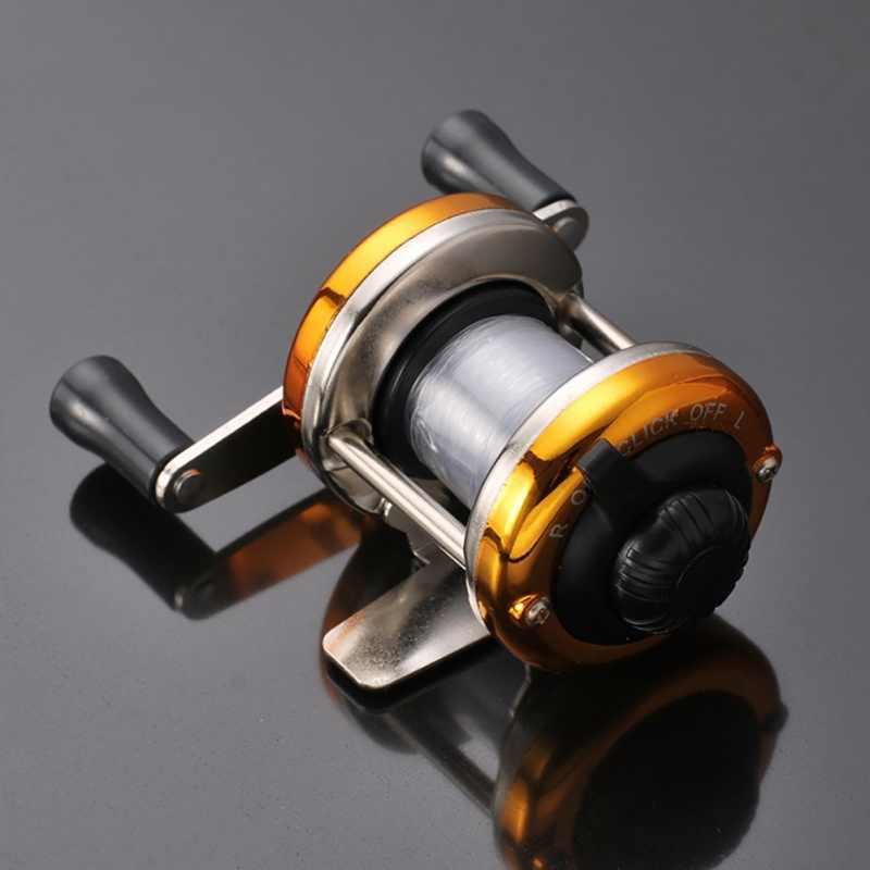 حار اليسار اليد اليمنى Baitcasting الصيد بكرة 5.2: 1 بيت صب الصيد عجلة مع الفرامل المغناطيسي الكارب Carretilha Pesca