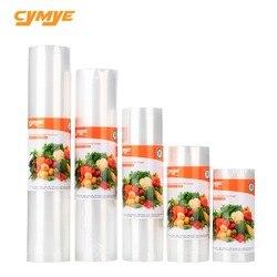 Cymye Еда вакуум Пластик roll пользовательский размер сумки Сумка для хранения для Кухня вакуумный упаковщик, чтобы держать Еда свежий