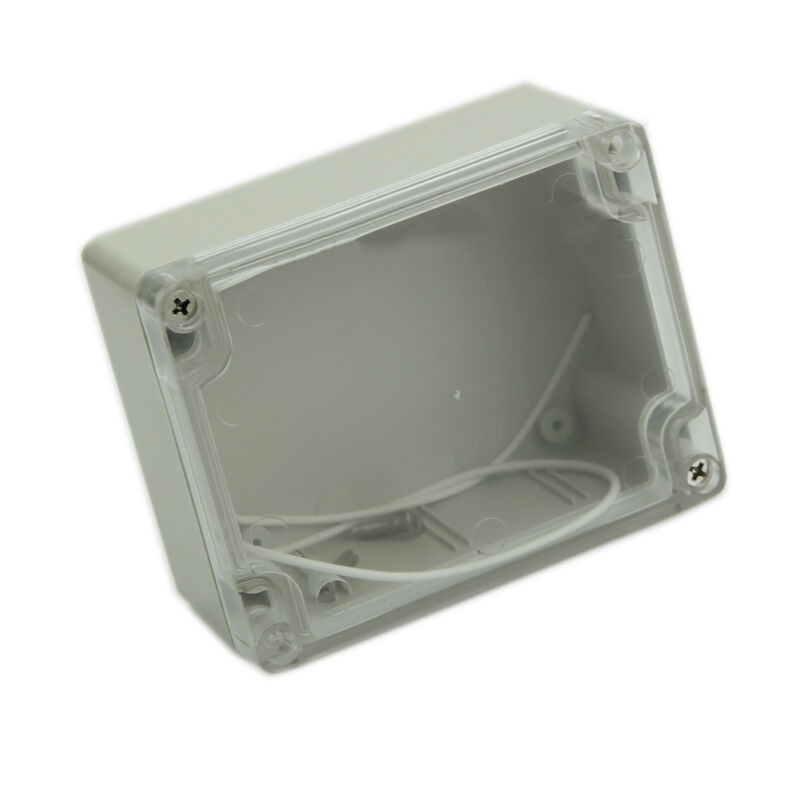 1pc Waterproof Box Enclosure Accessories Case 55*90*115mm Plastic Transparent Clear Organization