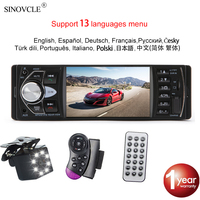 """Hippcron Auto Radio 1 Din Autoradio 4022D Bluetooth 4.1 """"Bildschirm Unterstützung rückansicht Kamera Lenkrad Contral Auto Stereo-in Autoradios aus Kraftfahrzeuge und Motorräder bei"""