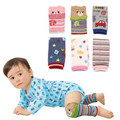 Christmas Gift Boy Girl Cotton Leg Warmers Infant Baby Toddler Kids Kneepads A93