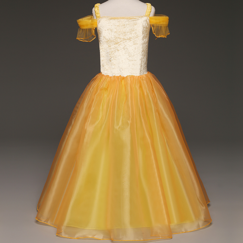 HTB1FsP6Kf5TBuNjSspcq6znGFXaB 2019 Children Girl Snow White Dress for Girls Prom Princess Dress Kids Baby Gifts Intant Party Clothes Fancy Teenager Clothing