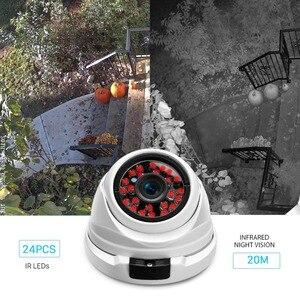 Image 4 - Telecamera IP ANBIUX 2MP HD antivandalo CCTV Dome HD 720P 960P 1080P telecamera IP di sorveglianza di sicurezza Video P2P Onvif per interni esterni