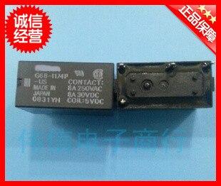 5pcsLot  Original relay G6B-1174P-US-5VDC 4 feet 5A