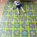 Baby soft indoor puzzle play mat educational split joint EVA foam crawling pad game carpet children kids toys rug playmat