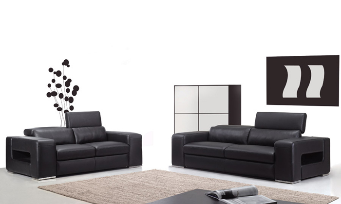 Free Shipping Classic 1 2 3 high back Leather sofa set Top