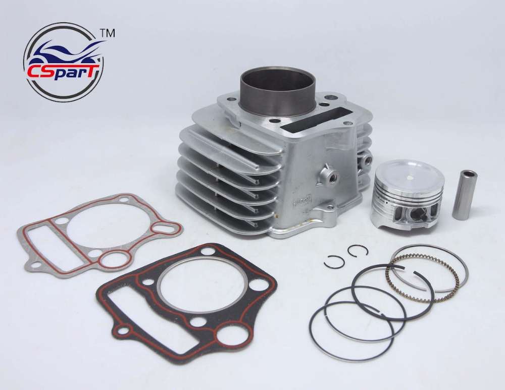 52.4MM 13MM 78MM Cylinder kit For Loncin Skyteam 125CC 1P52FMI Engine Dirt  Bike Parts