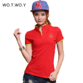 2016 High Quality Solid Color Women Polo Shirt S-XXL Cotton Slim Polo Femme Shirt Plus Size Brand Polo Raph Women Velvet