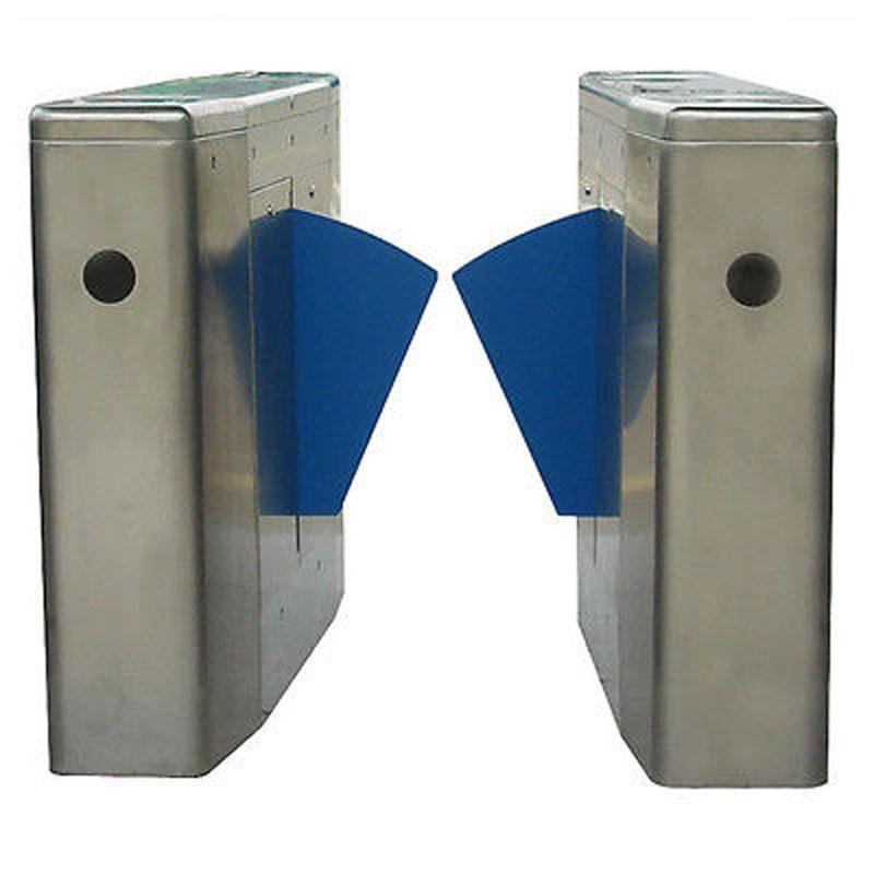 turnstile Auto Set Box Flap Barrier Half Height For AccessControl