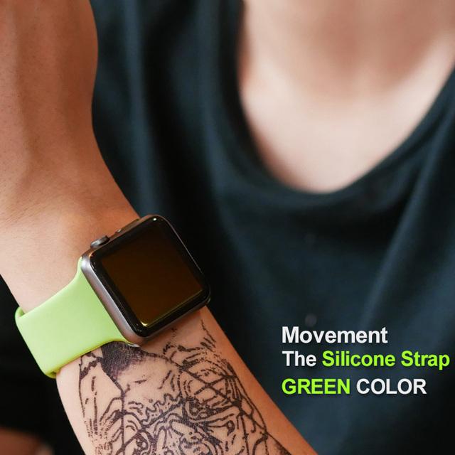 Silicone Sport Edition Bracelet Band Strap