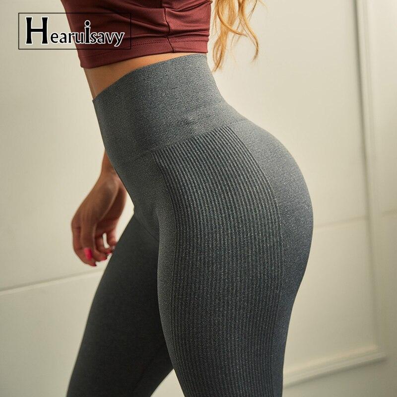 Hohe Taille Nahtlose Yoga Hosen Sport Leggings Für frauen Workout Schlanke Turnhalle Fitness push-up Winter Laufhose Leggings