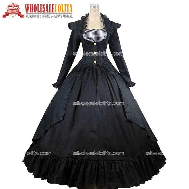 Vestido azul marinho e preto