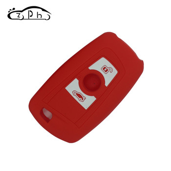 3 Buttons Silicone Remote Key Case Cover Fob Shell Protector for BMW F30 F31 F34 F10 F11 F07 550i 535i 528i X3 image