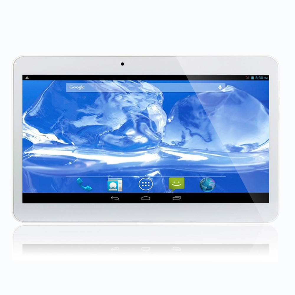 10 אינץ 'מקורי אוזניות ג' ק 3G טלפון אנדרואיד Quad Core Tablet pc 2GB זיכרון RAM 16GB ROM WiFi GPS Bluetooth 2G16G טבליות מחשב