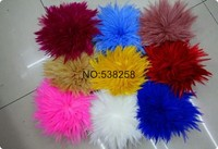 10 15cm Rooster Saddle Hackle Feather Strung Chicken feather Trimming Cock Ribbons