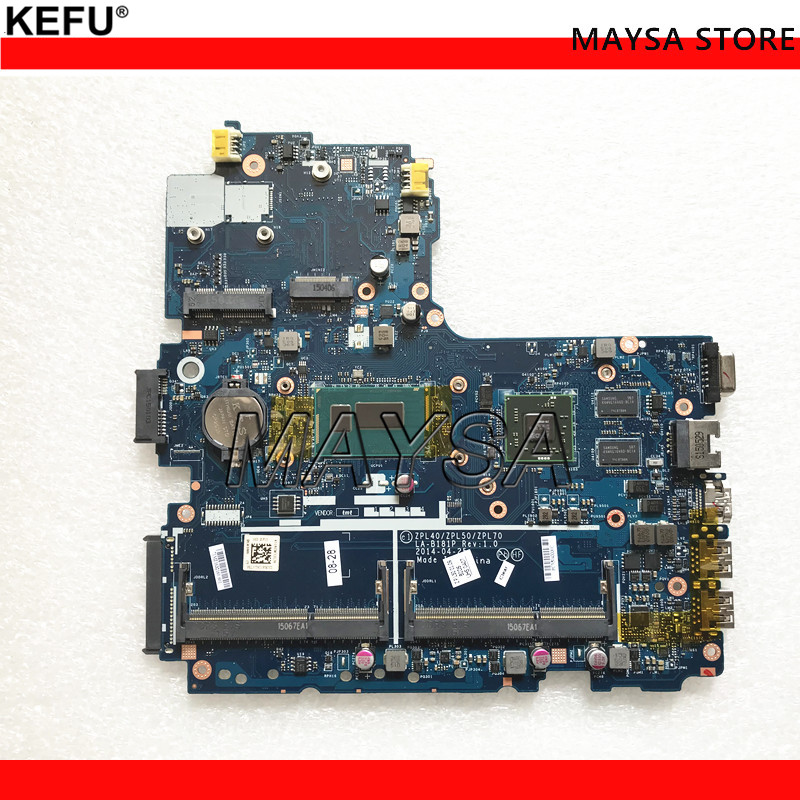 782950 001 For HP 450 G2 450 G2 Laptop motherboard I3 4030U Cpu LA B181P 782950 601 782950 501 100% Tested