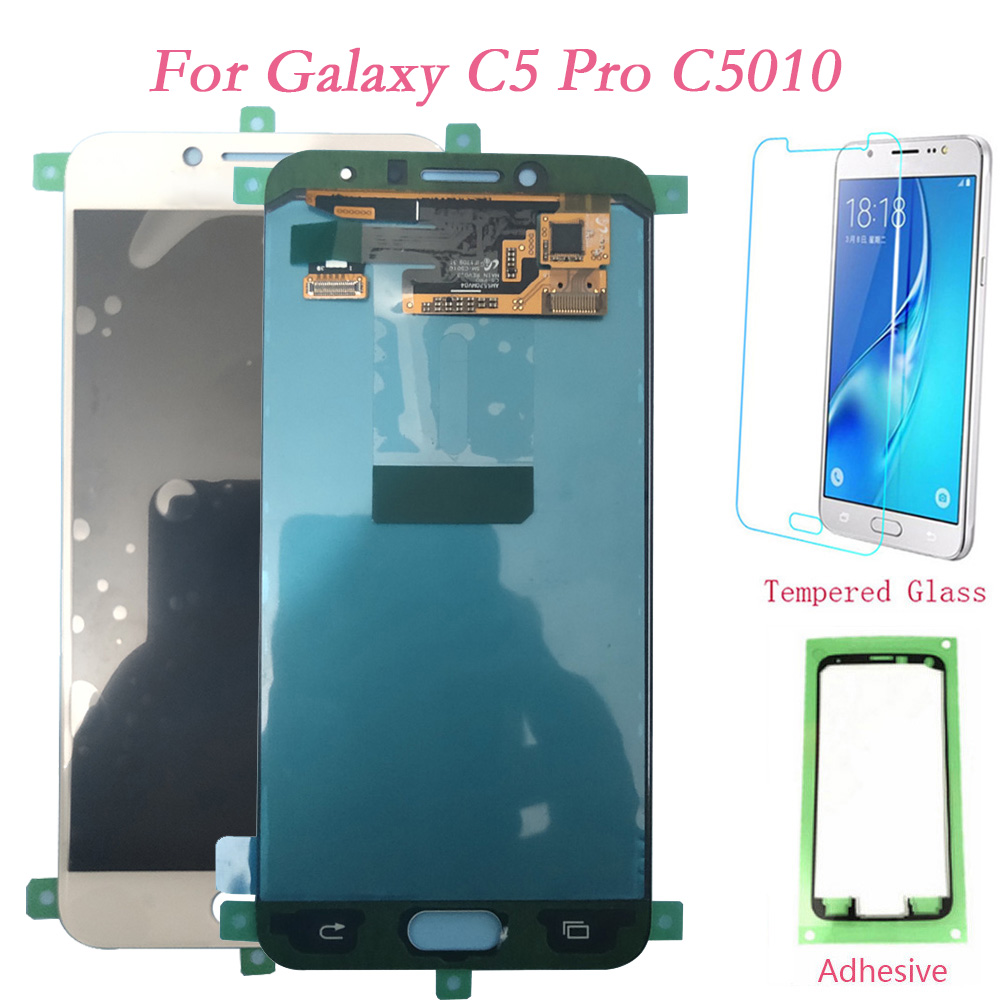 Test LCD Screen For Samsung Galaxy C5 Pro C5010 Touch Screen Digitizer LCD Display For Samsung C5010 C5 Pro Assembly OriginalTest LCD Screen For Samsung Galaxy C5 Pro C5010 Touch Screen Digitizer LCD Display For Samsung C5010 C5 Pro Assembly Original