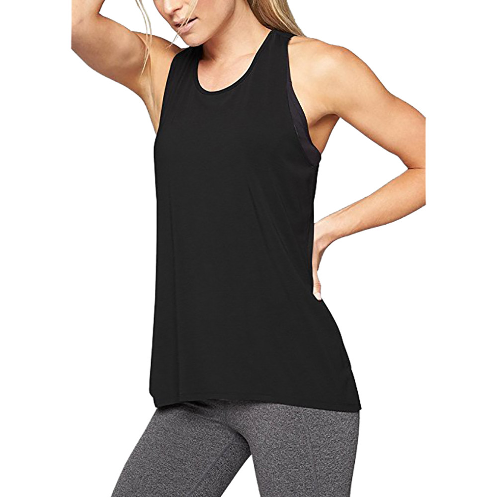 Summer Shirts For Women Slim Workout Activewear Fitness Cross Quickly absorb sweat Tops Tank Dry Fit Tight Jerseys Clothing