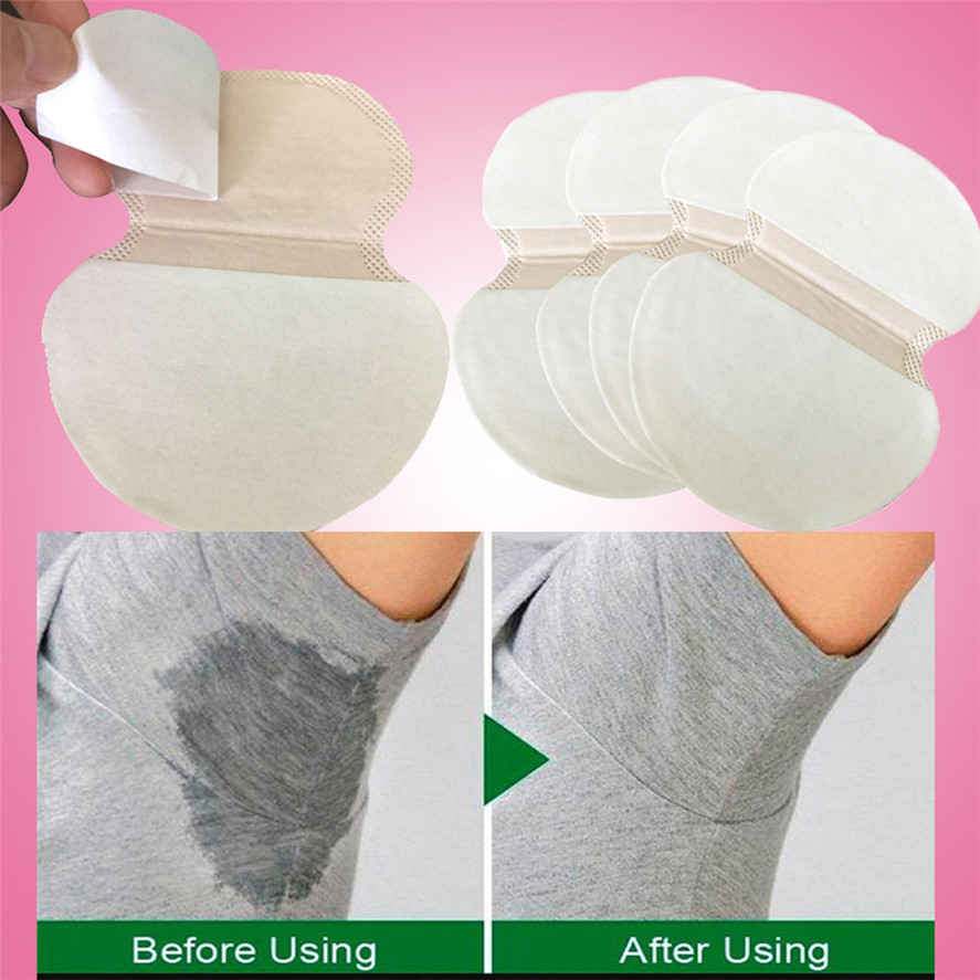 New Invisible Sweat Absorbent Pads 50PC Underarm Pads Dress Underarm Arm Sweat Pads Under Arms Deodorant Sweat Pads 0705#30