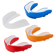New Adult Mouth Guard Silicone Teeth Protector Mouthguard For Boxing Sport Football Basketball Hockey Karate Muay Thai L