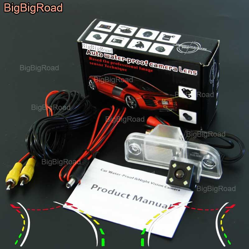 BigBigRoad Car Intelligent Dynamic Track Rear View Camera Backup Reversing Camera For Kia Sedona New Carnival
