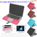 New arrival Fashion PU Leather Sleeve For Macbook Air 11 13 cases for macbook Pro 13 15 Retina 13 15 Laptop Shell