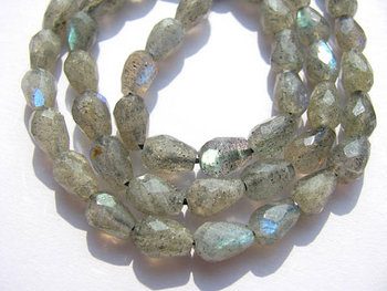 bulk genuine labradorite beads 6x9mm 5strands 16inch strand ,high quality drop onion pear faceted blue jewelry beads