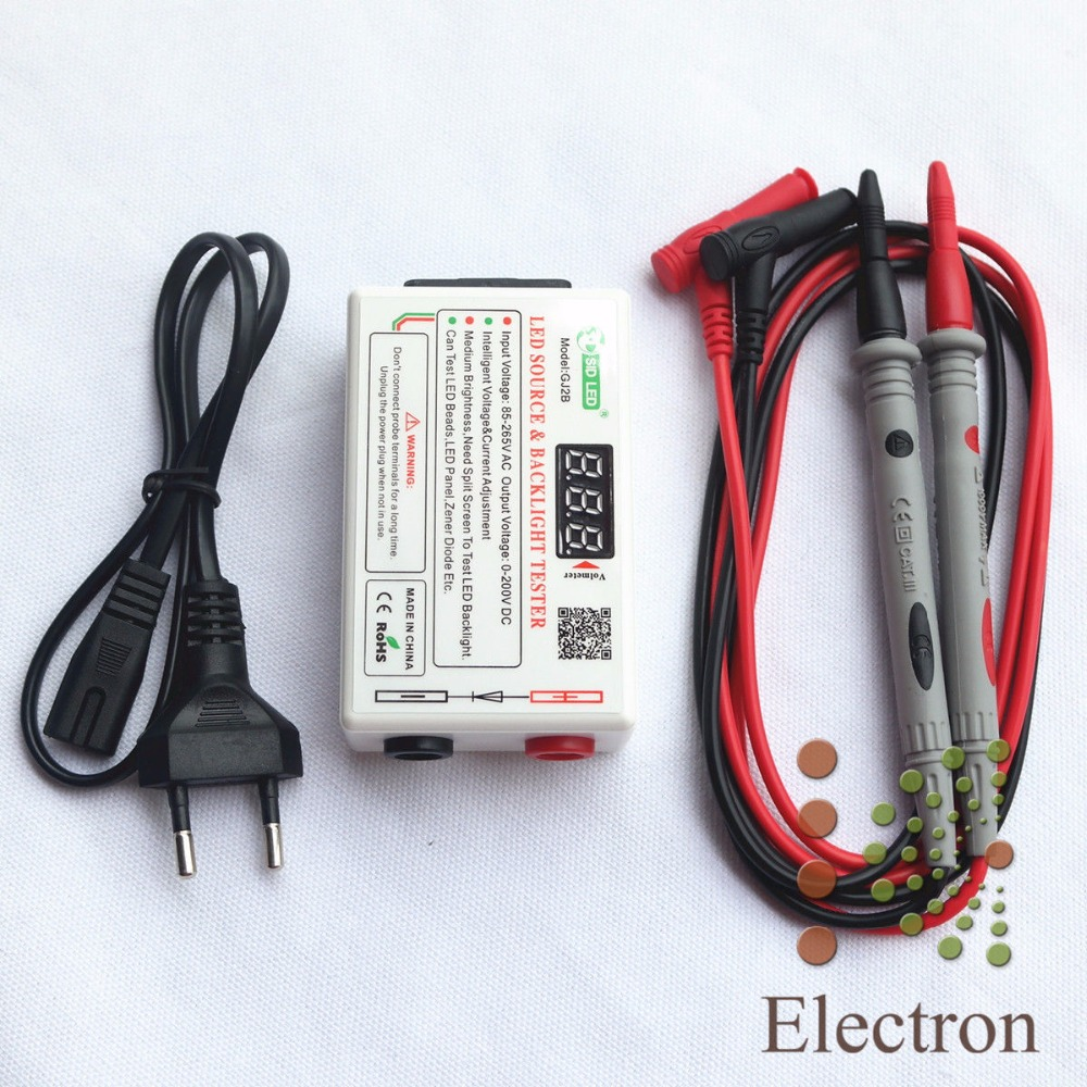 0-220V Smart-Fit Voltage Backlight Tester Tool for All Size LED LCD TV Laptop free shipping