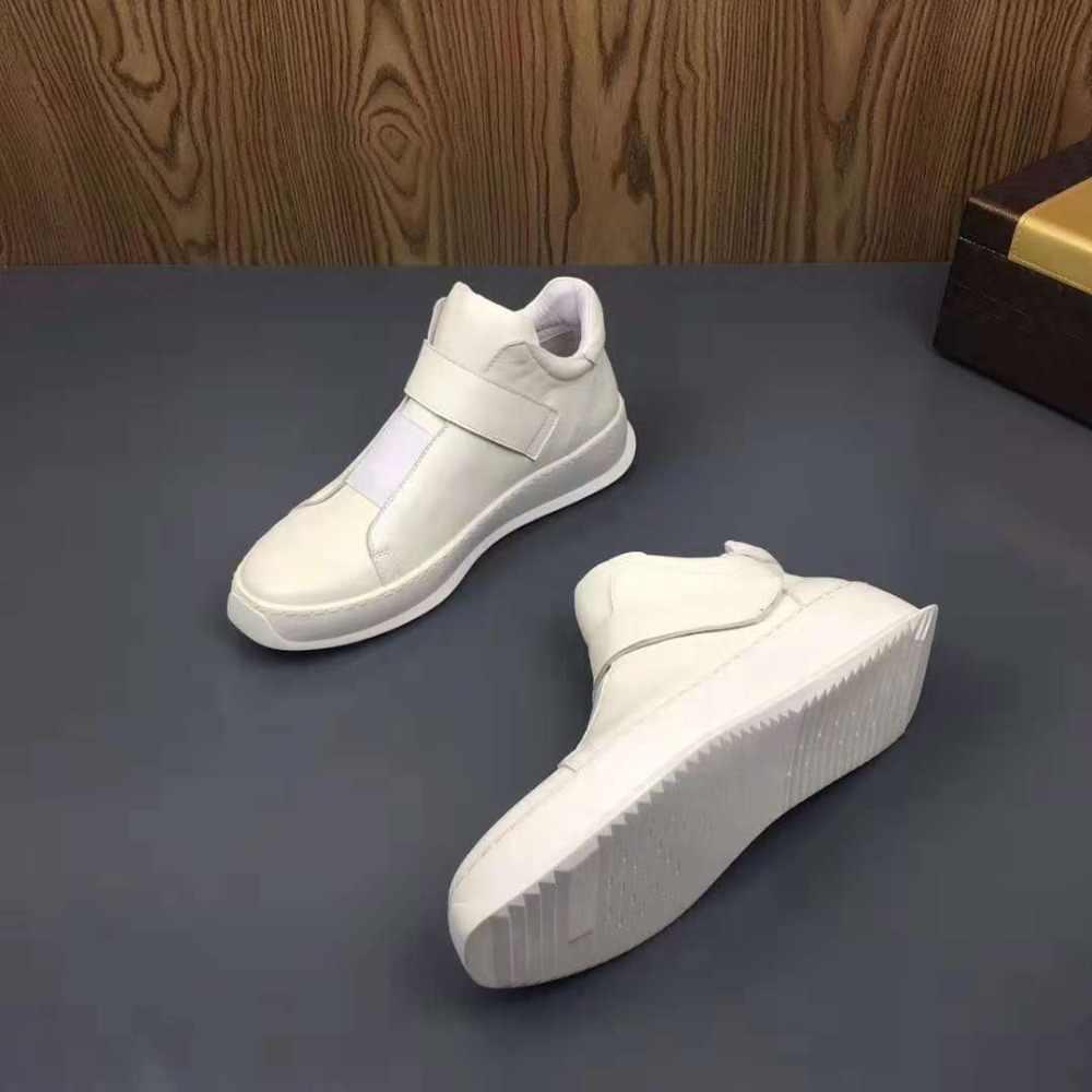 2020 г. Зимняя модная крутая Мужская теплая обувь на меху высококачественные мужские кроссовки, белые Брендовые ботильоны из натуральной кожи на плоской подошве размер 38-44