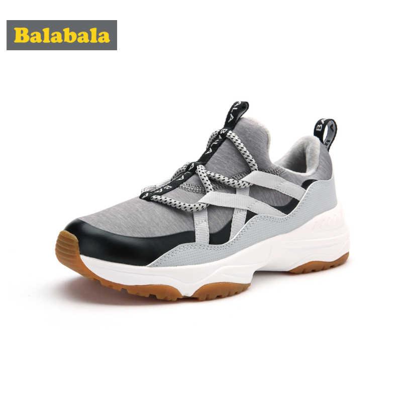Balabala erkek polar astarlı Sneakers kayma dekoratif bağlama genç erkek koşu ayakkabıları için çekme sekmesi ile at topuk