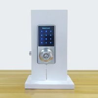 Dropshipping Office Apartment Home Anti Theft Smart Touch Pad Code Lock Phone APP Control Security Entry Password Door Lock