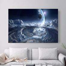 Destiny Game Vintage Canvas Art Print Painting Poster Wall Pictures For Room Home Decoration Decor No Frame