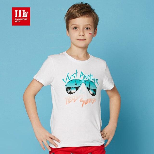 boys t shirts short sleeve cartoon kids summer tops teen clothes 100% cotton o neck children clothing