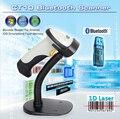 Бесплатный Кронштейн держатель + CT10 Bluetooth для Беспроводной Сканер Штрих-Кодов 1D Barcode reader W/Авто Индукции для iOS, Android windows