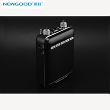 NEWGOOD N570 Portable Professional  Megaphone Booster Amplifier speaker wireless microphone FM radio mp3 playing free shipping