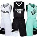 Mens tênis de basquete jerseys crianças juventude em branco de basquete esportes respirável shorts de basquete camisas uniformes ternos kits