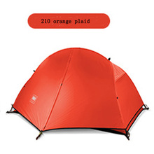 Naturehike-NH Extreme Ultra-light Aluminum Pole Tent Outdoor Single Person Riding Silica Gabric Super Waterproof