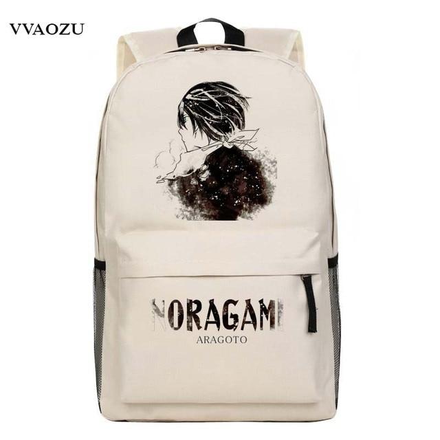 New Cartoon Anime Fashion Childrens School Bag Noragami Backpack  ARAGOTO Yukine Cosplay  backpacksTravel Laptop Book Bags