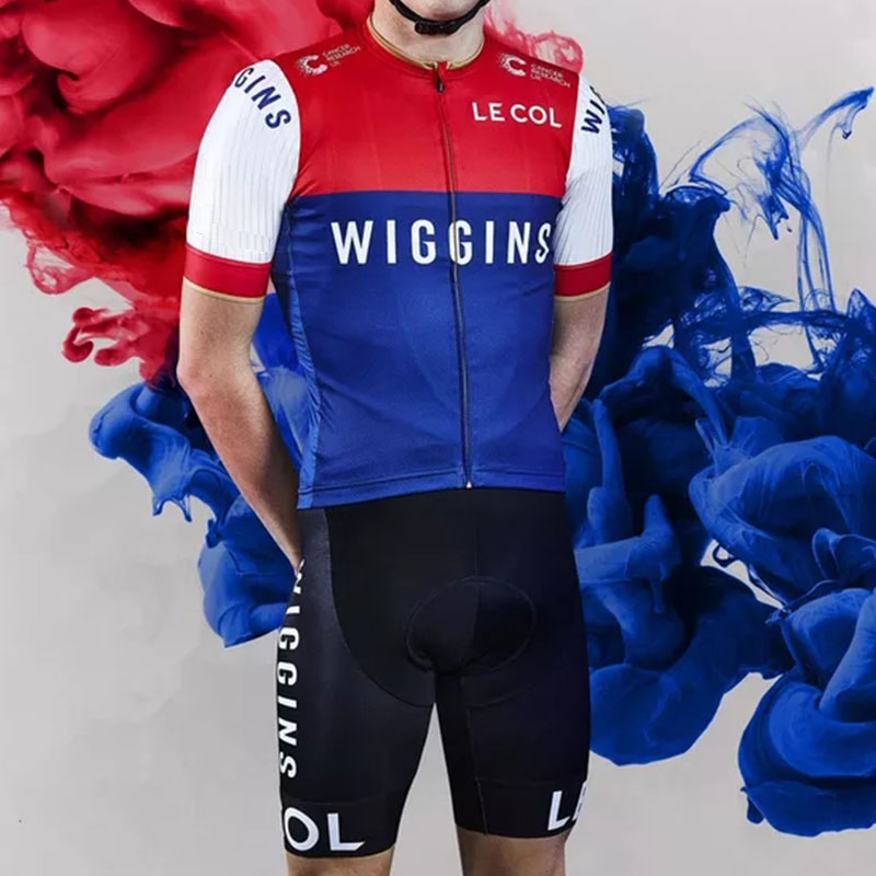 fb3787045 2018 team wiggins le col custom aero summer short sleeve cycling suits TOPS  jersey UK pro uci road bike team LYCRA bib shorts 9d - aliexpress.com -  imall. ...