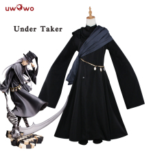 купить UWOWO Under Taker Cosplay Black Butler Book of Circus Costume Black Butler Cosplay Kuroshitsuji Under Taker Costume Kuroshitsuj по цене 4858.14 рублей