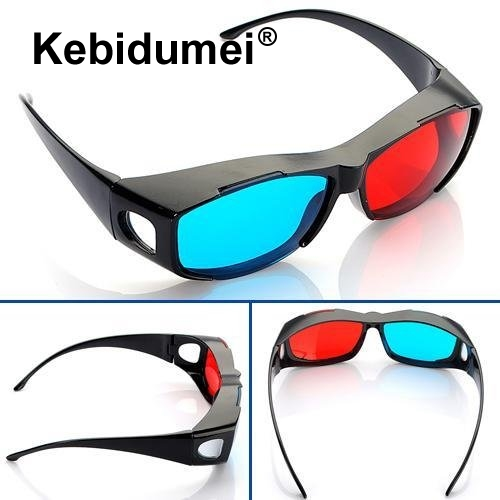Kebidumei 3d Red Green Magenta Glasses Cyan Myopia Vision Dimensional Anaglyph Eyewear Video Glass For Plasma Tv Stereo Movie Reasonable Price Consumer Electronics Vr/ar Devices