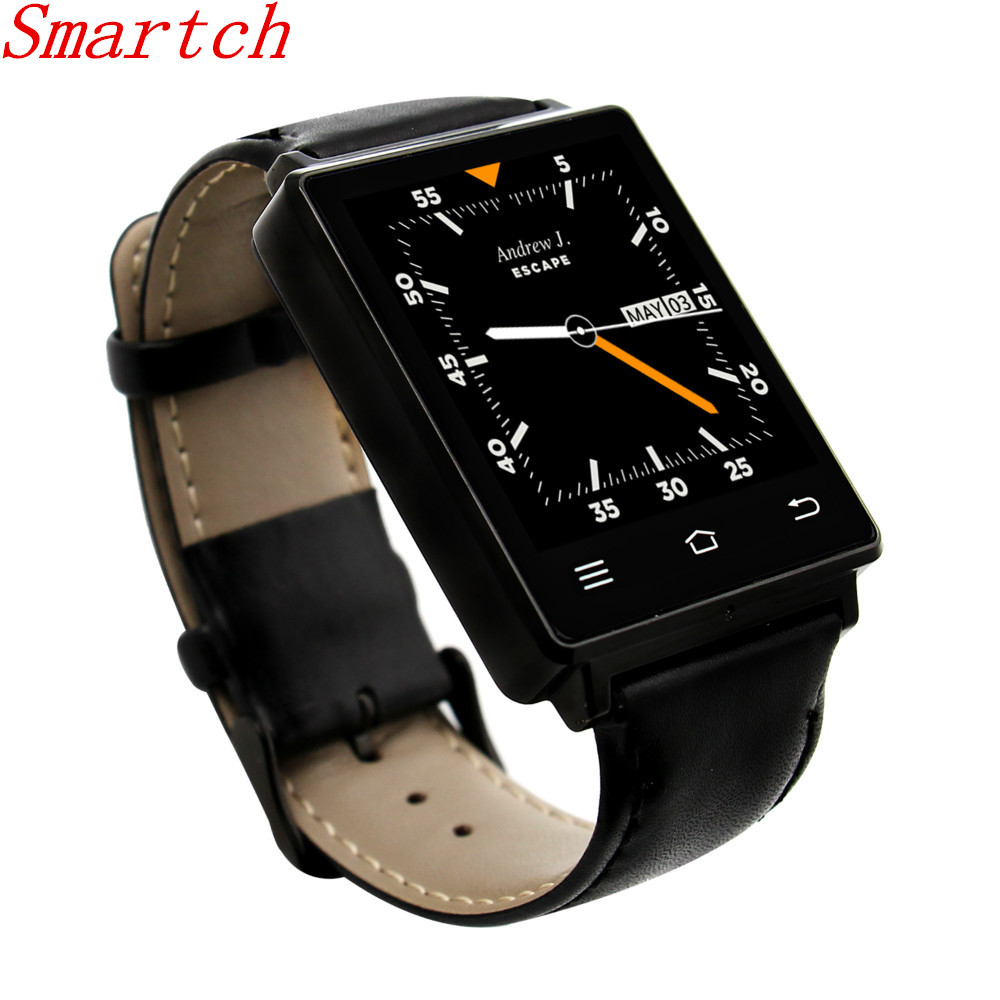 Smartch Smart Watch NO.1 D6 1GB RAM 8GB ROM MTK6580 Quad Core 1.63 Inch Android 5.1 For Samsung XiaoMi Support Health Monitor GP adjustable quick release plastic tactical puttee thigh leg pistol holster pouch for usp45 black