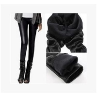 2017 Autumn Winter Women Solid Ankle length Mid Waist Large Size Legging Thick Pants