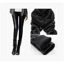 2017 Autumn Winter Women Solid Ankle-length Mid Waist Large Size Legging Thick Pants
