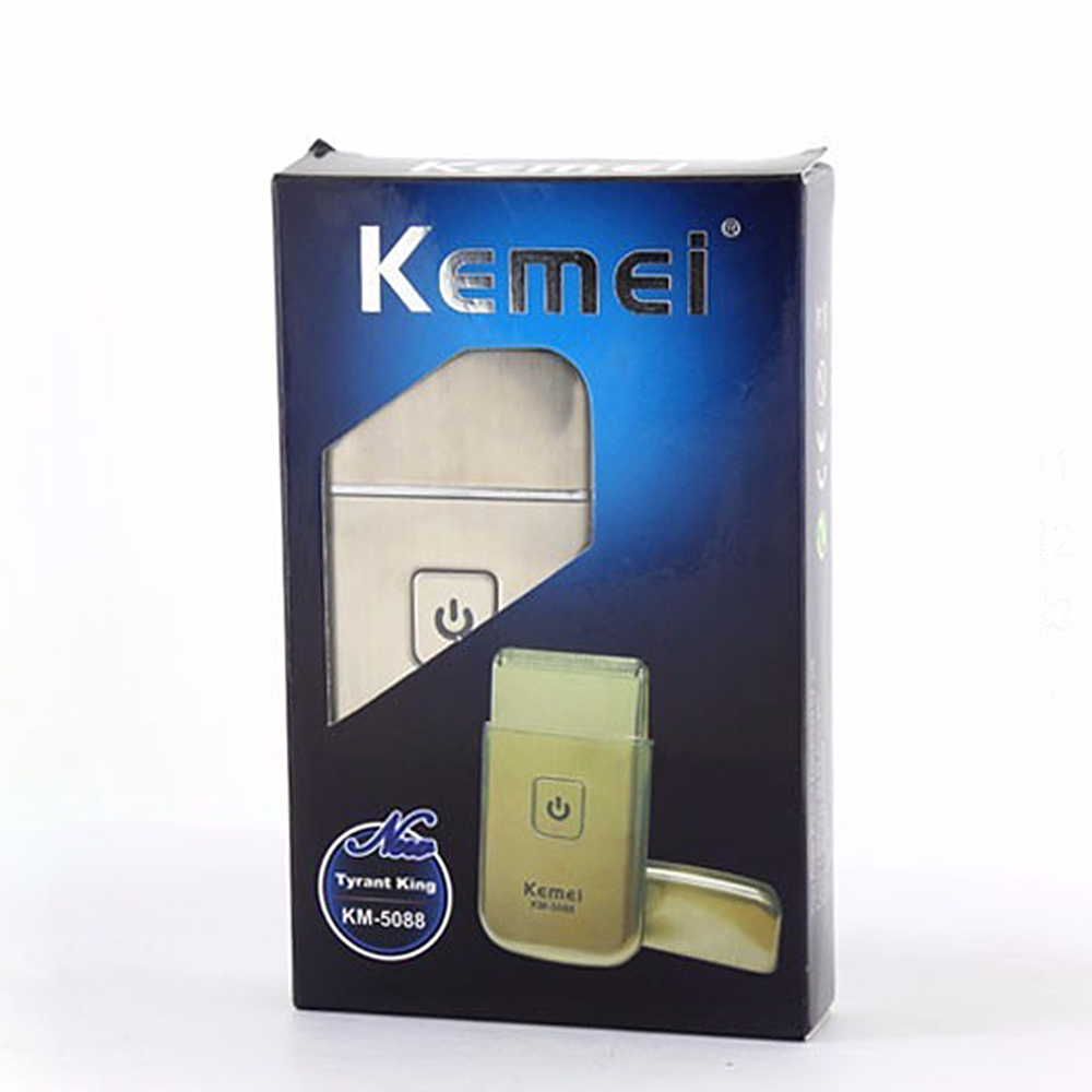 2016 new kemei km 5088 face care mini usb charging cordless travel electric shaver beard. Black Bedroom Furniture Sets. Home Design Ideas