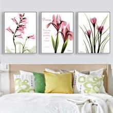 Gohipang цветок на холсте краска маслом розовый цветочный фото