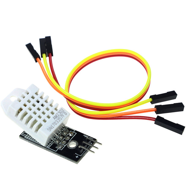 DHT22 AM2302 Digital Temperature Humidity Sensor Module With Dupont Cables for arduino DIY KIT