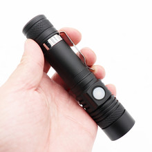 Mini 6000LM T6 LED Flashlight Spot Lamp IPX4 Waterproof High Power Portable 3 Models Zoomable Camping Equipment Torch lamp
