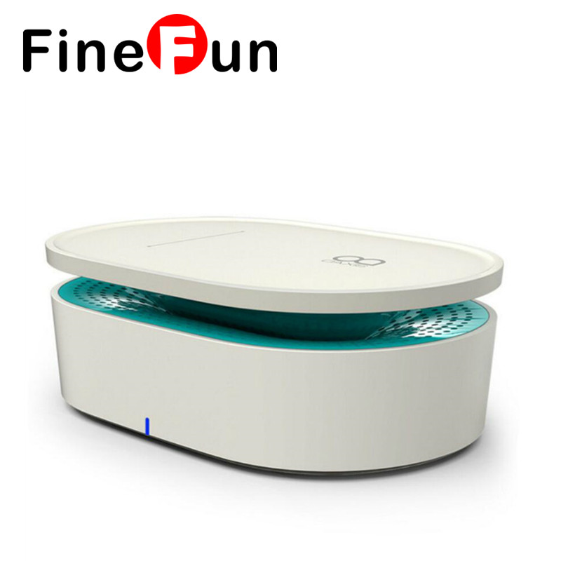 ФОТО FineFun Speaker Portable Wireless Stereo Subwoofer Contact Without Audio Cable Wifi Bluetooth Built-in Battery PC Phone MP3